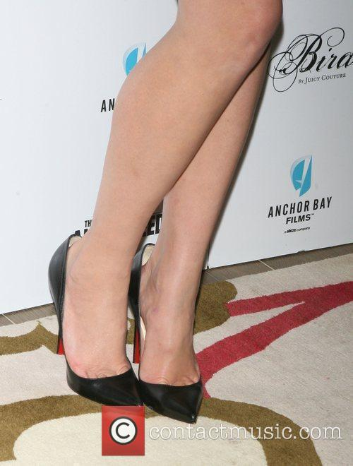 Gemma Arterton shoes attends the premiere of 'The...