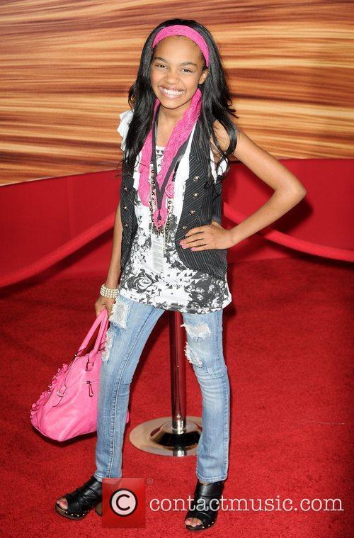 China McClain  Disney's 'Tangled' Los Angeles Premiere...