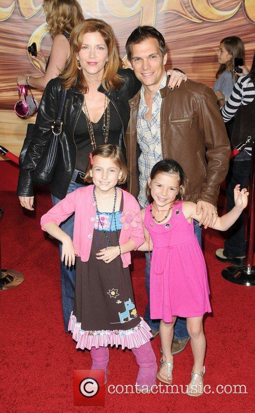 Katelyn Pippy and Family  Disney's 'Tangled' Los...