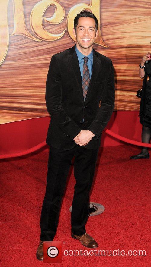 Zachary Levi  Disney's 'Tangled' Los Angeles Premiere...