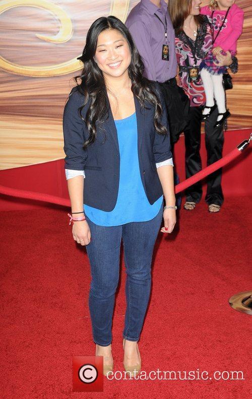 Jenna Ushkowitz Disney's 'Tangled' Los Angeles Premiere at...
