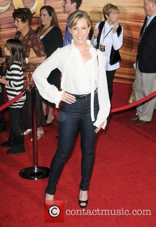 Julie Benz Disney's 'Tangled' Los Angeles Premiere at...