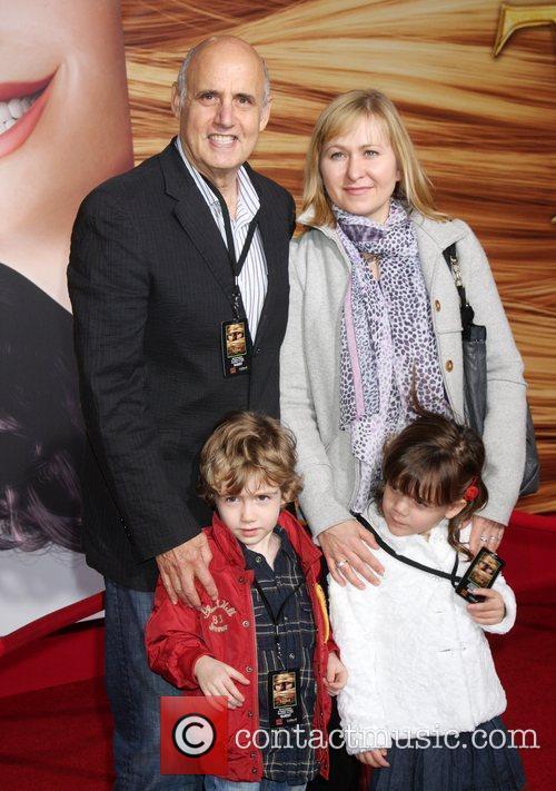Jeffrey Tambor and Family Disney's 'Tangled' Los Angeles...