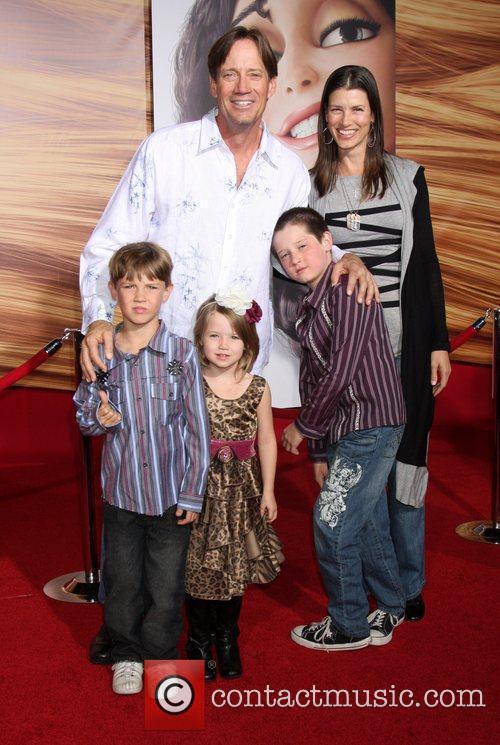 Kevin Sorbo, Sam Sorbo and Family Disney's 'Tangled'...
