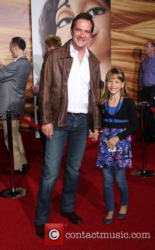 Tim DeKay and daughter Disney's 'Tangled' Los Angeles...