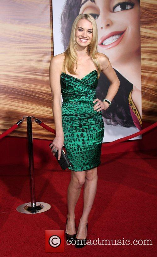 Yvonne Strahovski Disney's 'Tangled' Los Angeles Premiere at...