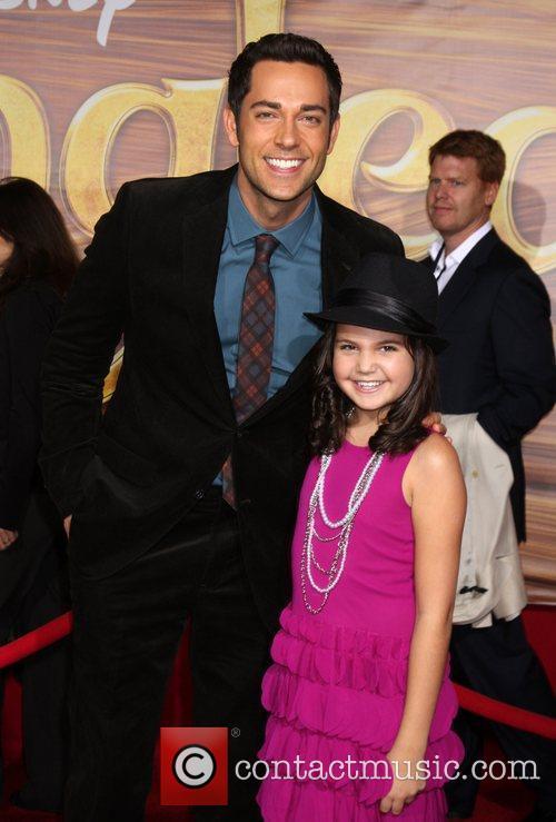 Zachary Levi and Bailee Madison Disney's 'Tangled' Los...