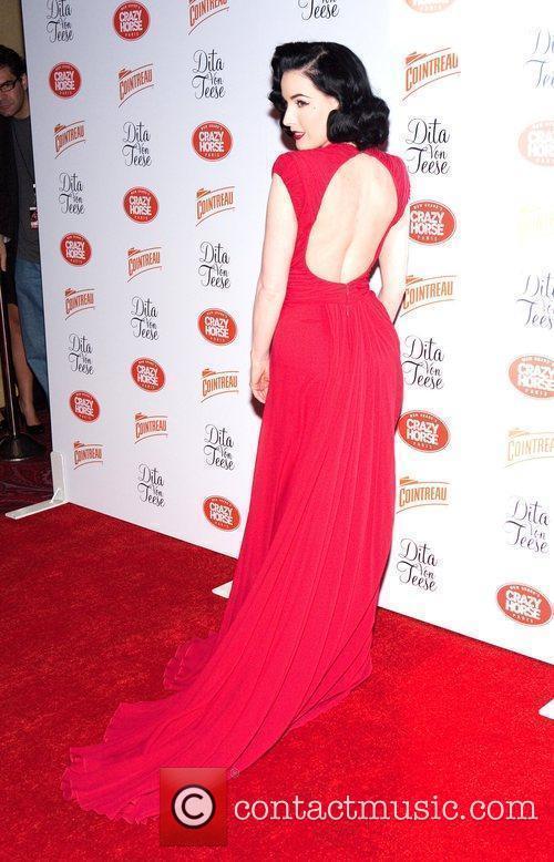 International burlesque queen Dita Von Teese returns to...