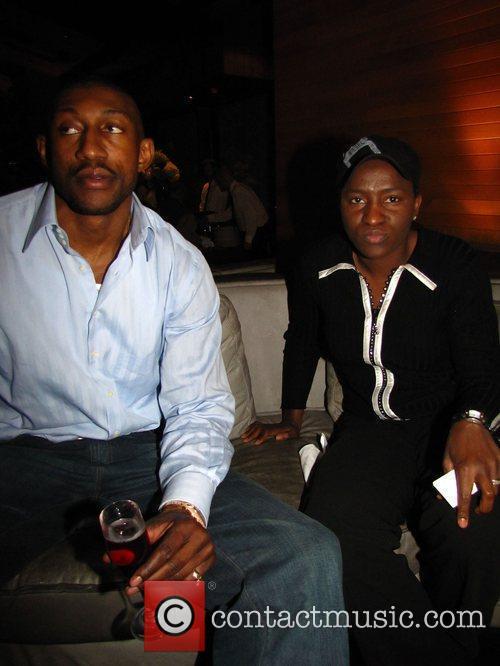D.J. Mbenga and Mwadi Mabika My House hosts...