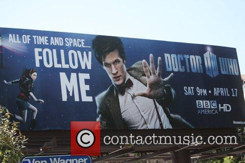 Matt Smith, Billboard and Doctor Who