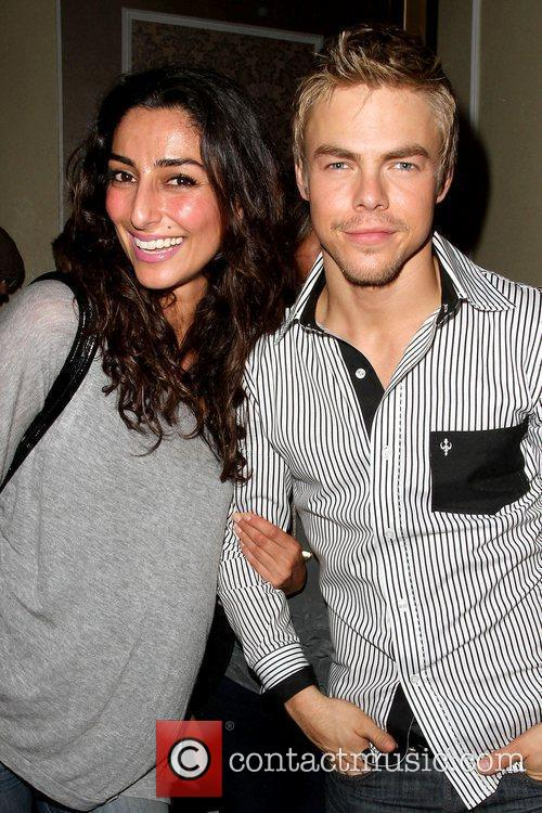 Necar Zadegan and Derek Hough Doctrine Clothing and...