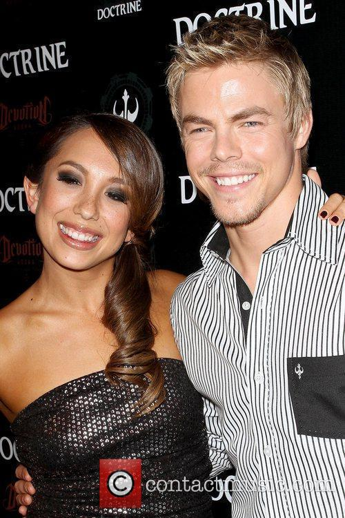 Cheryl Burke and Derek Hough Doctrine Clothing and...