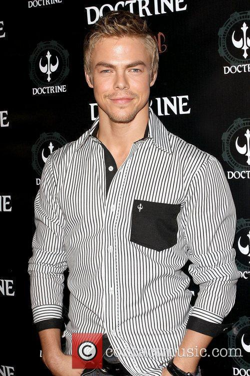 Derek Hough Doctrine Clothing and Devotion Vodka launch...