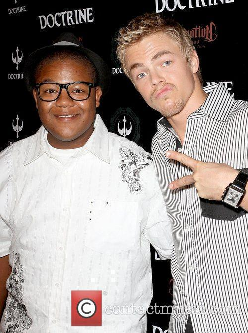 Kyle Massey and Derek Hough Doctrine Clothing and...