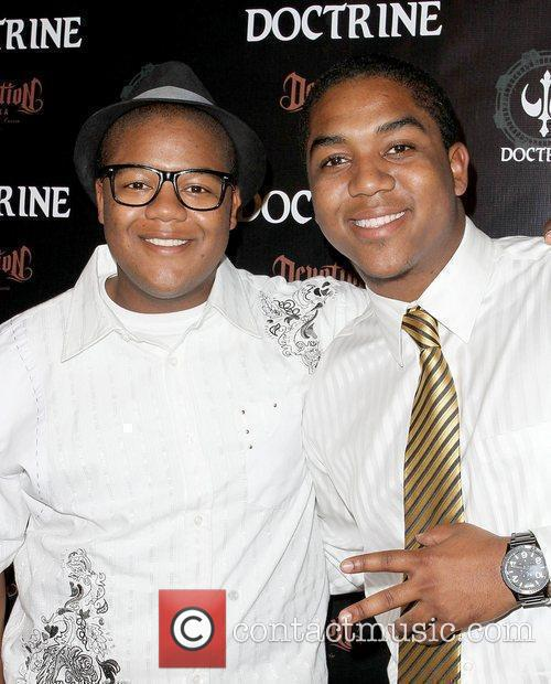 Kyle Massey and Christopher Massey Doctrine Clothing and...