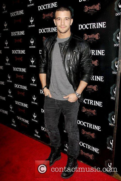 Mark Ballas Doctrine Clothing and Devotion Vodka launch...