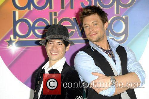 Chucky Kaplow and Duncan James Photocall to promote...