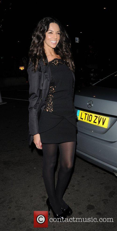 Terri Seymour at the Dorchester