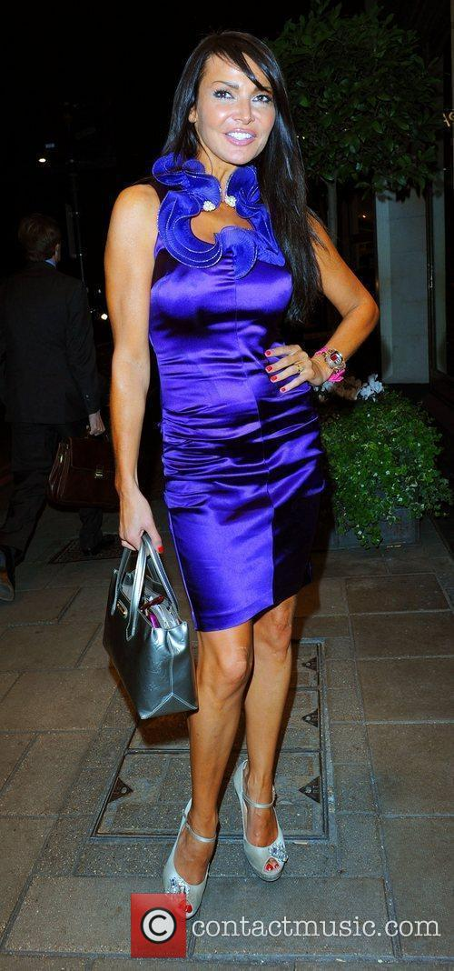 Lizzie Cundy Women's Aid fundraising dinner at the...