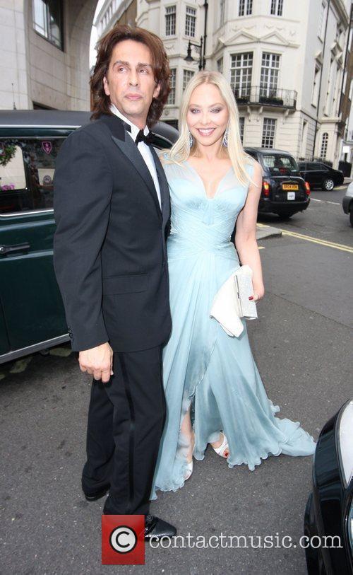 Guests leaves the Dorchester for Elton John's White...