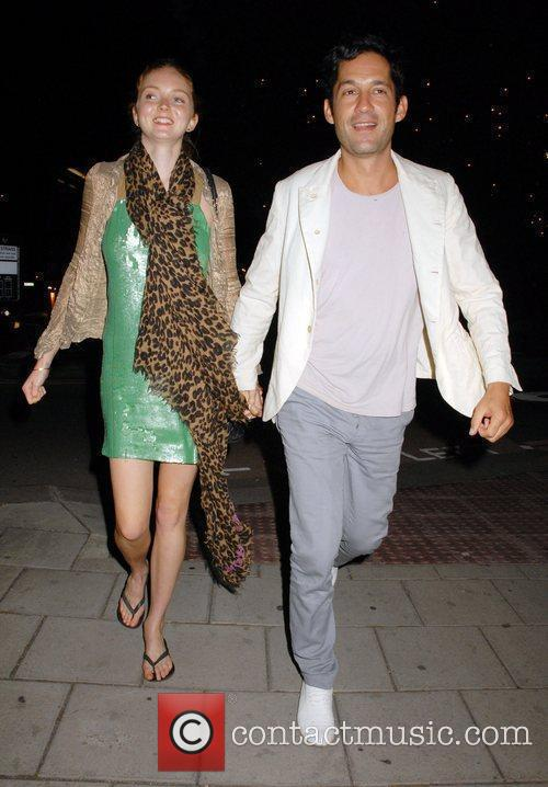 Lily Cole and Enrique Murciano 5