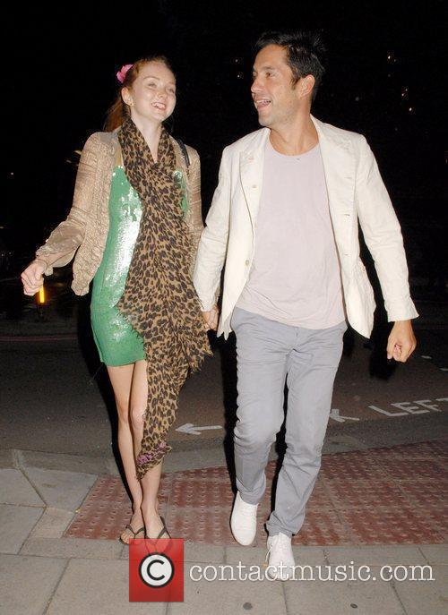 Lily Cole and Enrique Murciano 8