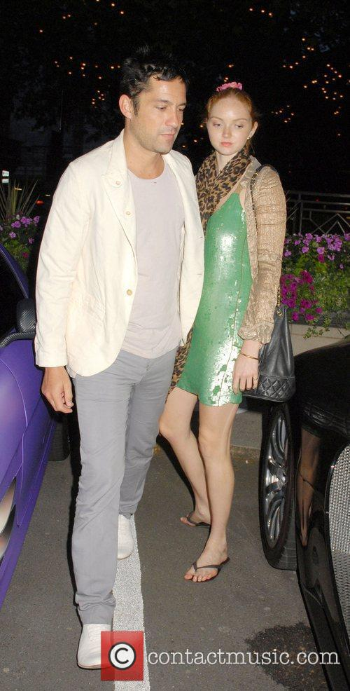 Lily Cole and Enrique Murciano 7