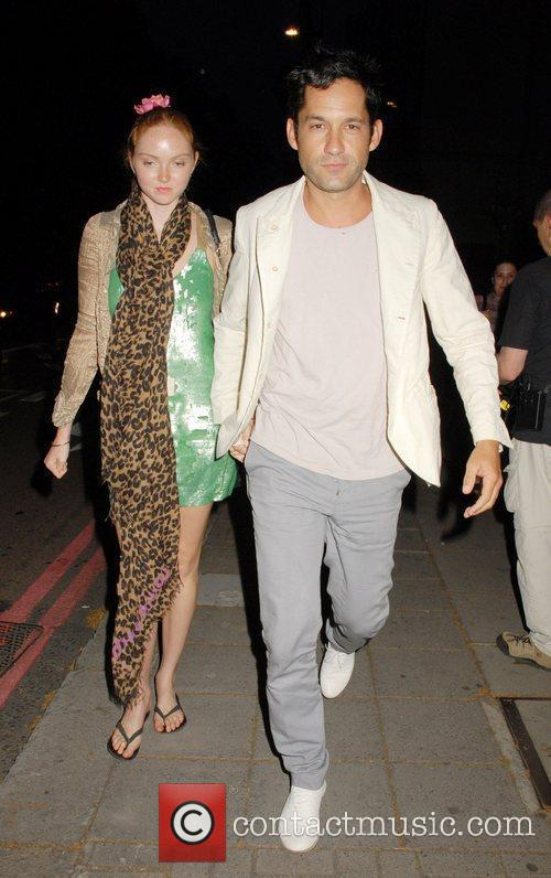 Lily Cole and Enrique Murciano 4