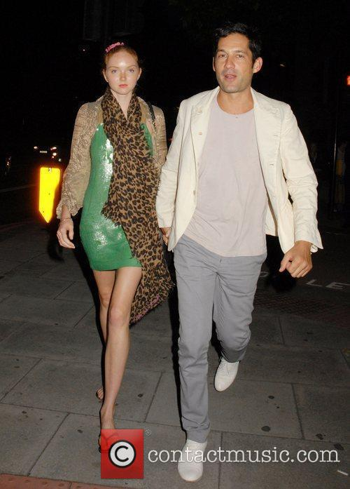 Lily Cole and Enrique Murciano 6