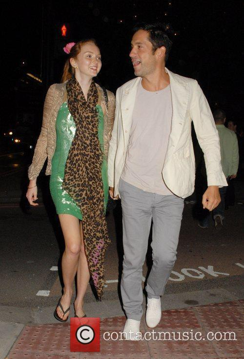 Lily Cole and Enrique Murciano 9
