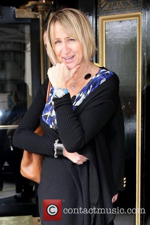 Carol McGiffin outside The Dorchester Hotel  London,...