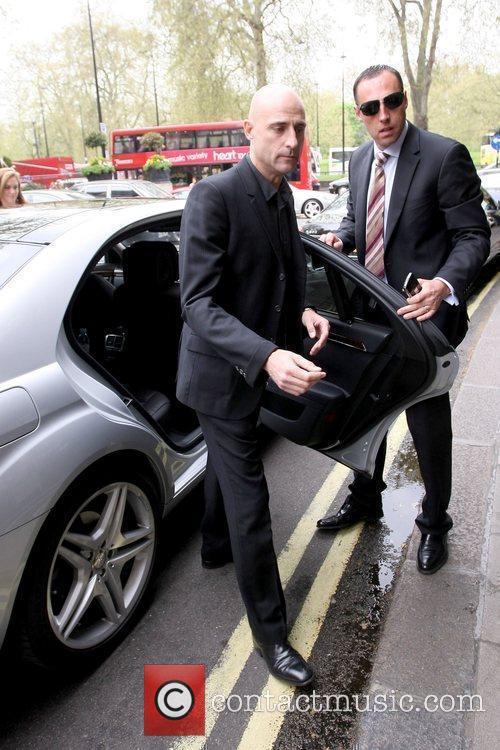 Mark Strong 'Kick-Ass' star arriving at The Dorchester...
