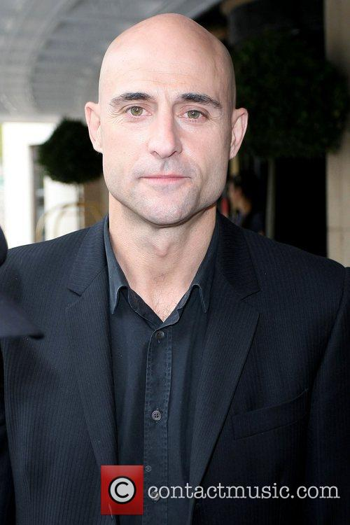 Mark Strong 'Kick-Ass' star outside The Dorchester Hotel...