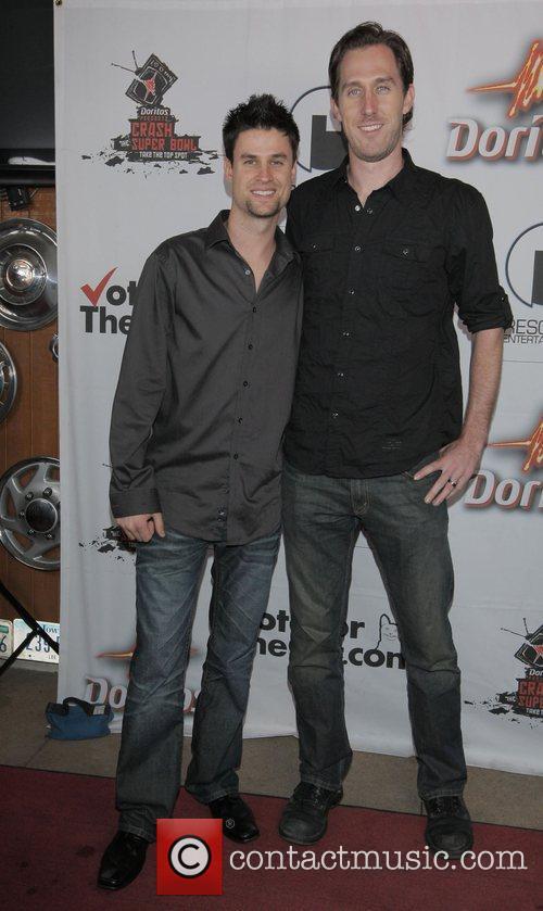 Brandon Lippard, Chris Armstrong Doritos Crash The Superbowl...