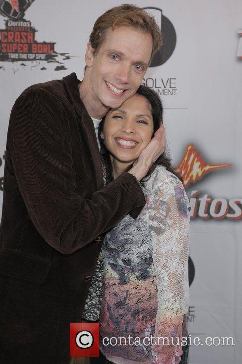 Doug Jones is with actress Susanna Velasquez (The...