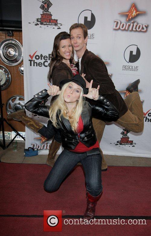 Jenn Gotzon, Doug Jones and Melissa Disney...