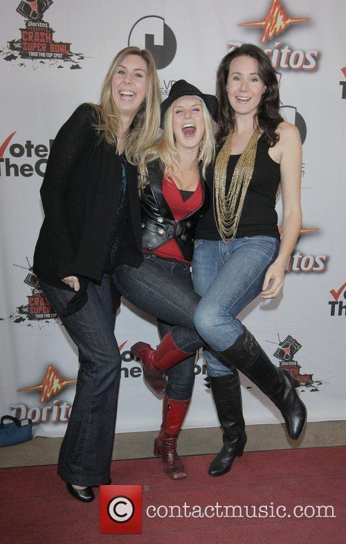 Lauren Brock, Jenn Gotzon, Emma Cameron Doritos Crash...