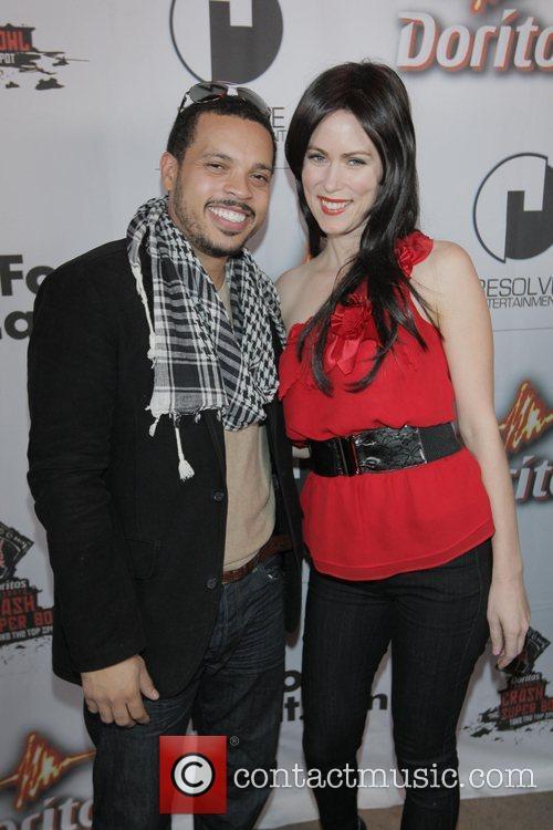 Lonnie Colon and Rochelle Russo Doritos Crash The...