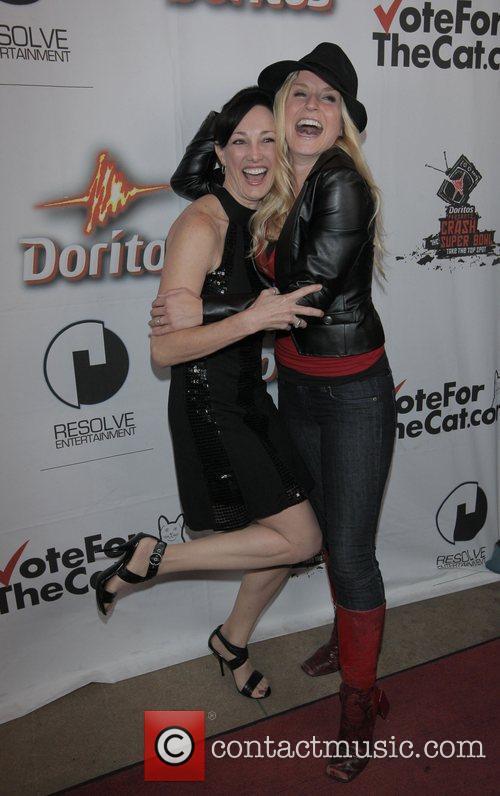 Susan Silvesteri, Jenn Gotzon Doritos Crash The Superbowl...