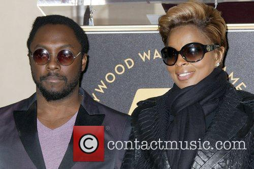 will.i.am of the 'Black Eyed Peas' and Mary...