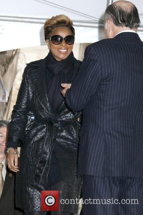 Mary J Blige and Worldwide Chairman and Chief...