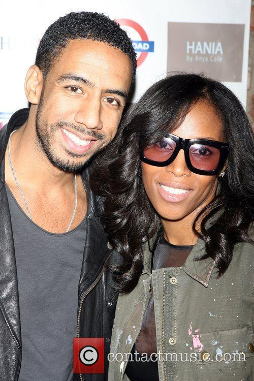 Ryan Leslie and June Ambrose