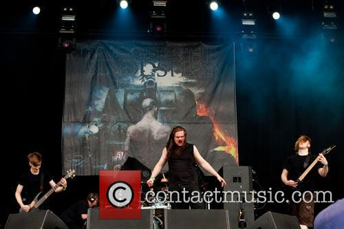 Trigger The Bloodshed  At the Download Festival...