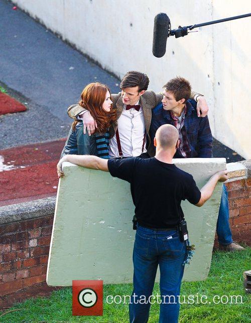 Matt Smith, Karen Gillan  'Dr Who' actors...