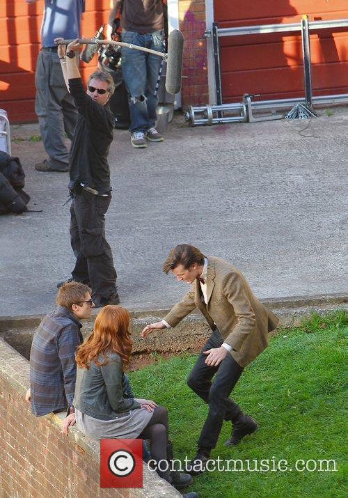 Arthur Darvill, Karen Gillan and Matt Smith 'Doctor...