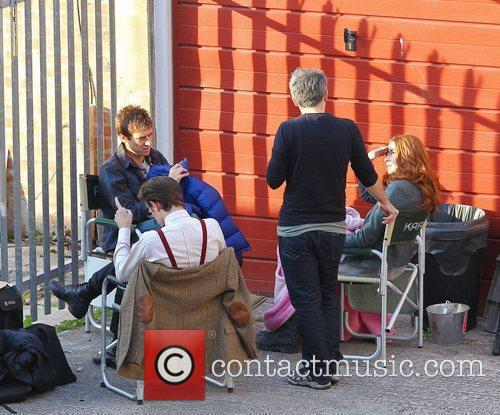 Arthur Darvill, Karen Gillan, Matt Smith 'Doctor Who'...