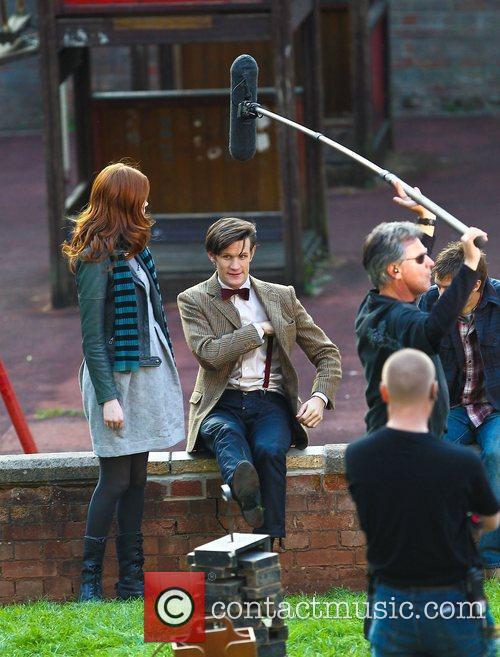 Matt Smith, Doctor Who and Karen Gillan 10