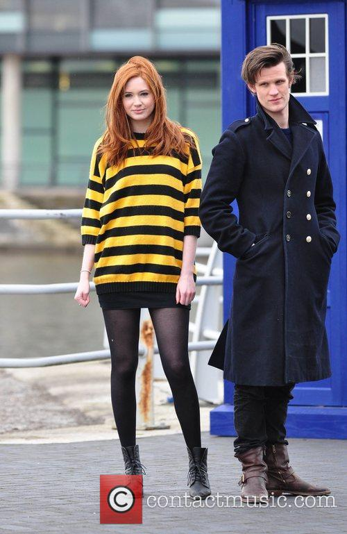 Karen Gillan and Doctor Who