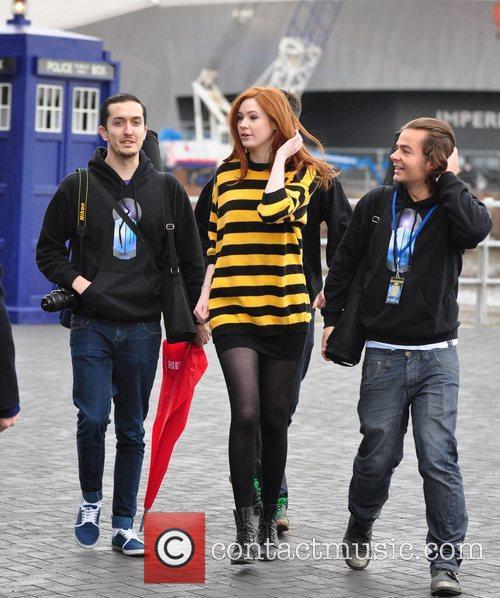 Karen Gillan Photocall for the BBC series 'Doctor...