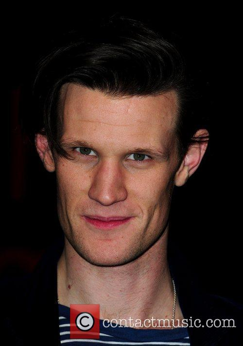 Matt Smith signing copies of 'Doctor Who: The...